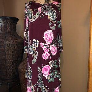 Dresses & Skirts - Floral Pattern Dress